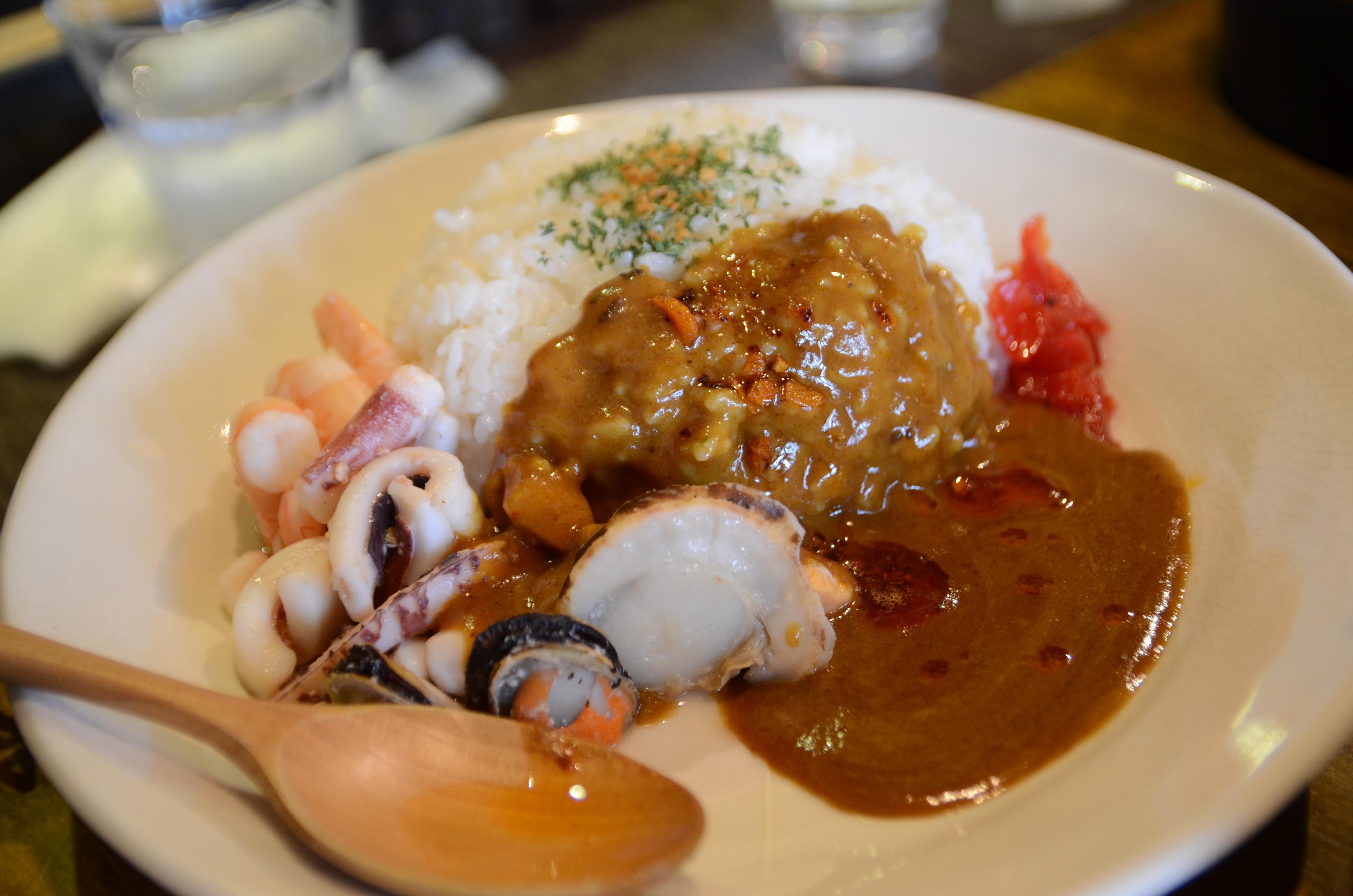 ■田村岩太郎商店の浜カレーは絶品。朝うにぶっかけ丼が無くても大丈夫!(2014年版)