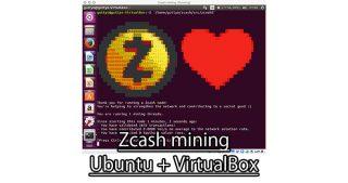 VM上のUbuntuでZcashをマイニング